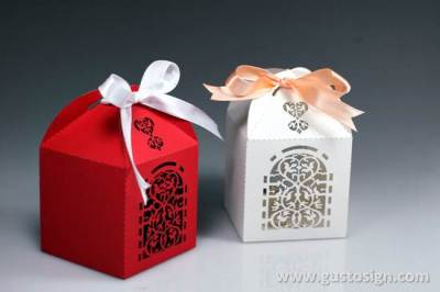 Laser Cut Wedding Favor Box (4)