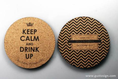 Cork Coaster - Weddingku Gusto (3)