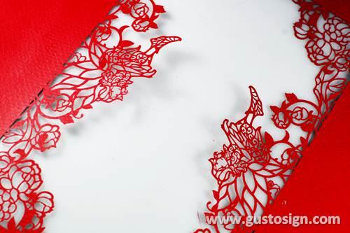 laser cut paper - gusto sign (1)