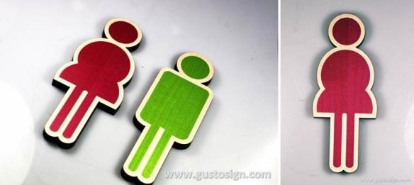 Restroom Sign - Gusto SIgn (3)