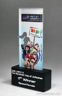 trophy pump it dance belia - gusto sign (2)