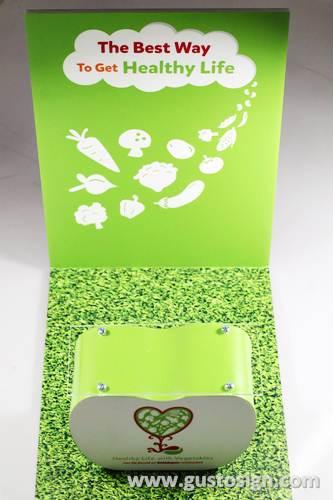 acrylic fabrication_mini booth - gusto sign (4)
