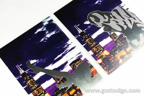 print on stainless - gusto sign (1)