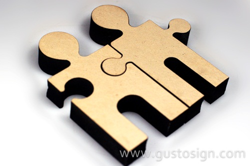 Puzzle MDF Laser Cut - Gusto Sign (4)