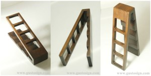 Wood Fabrication - Remote Holder - Gusto Sign (3)