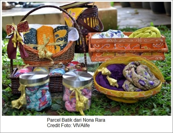 Parcel Batik Nona Rara - Foto by VIVAlife