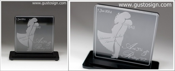 Wedding Trophy - Gusto Sign