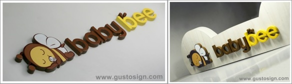 3D Sign - Gusto Sign (1)