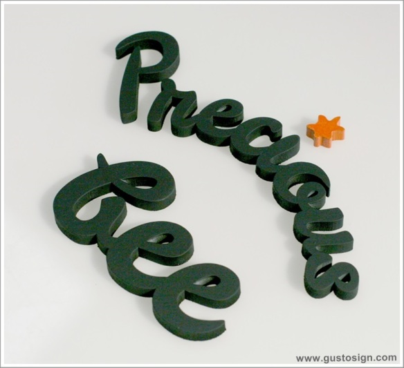 3D Sign - Gusto Sign (2)