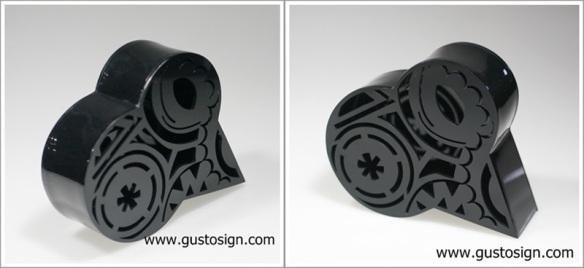 Acrylic Fabrication - Gusto Sign