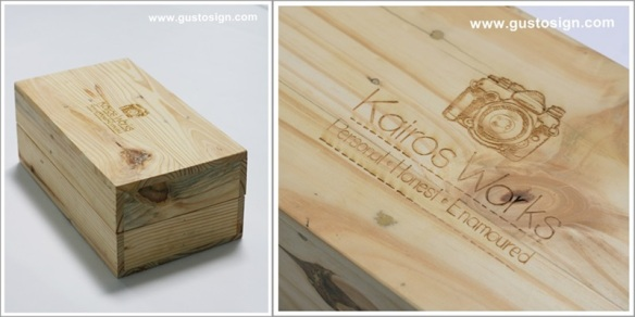 Wood Fabrication - Gusto Sign (1)