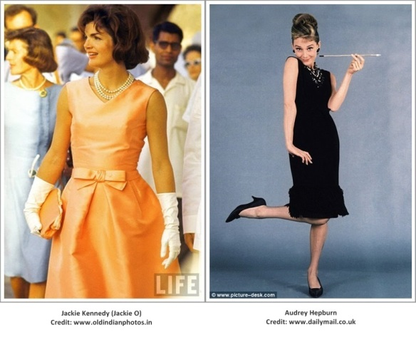 Jackie O and Audrey Hepburn