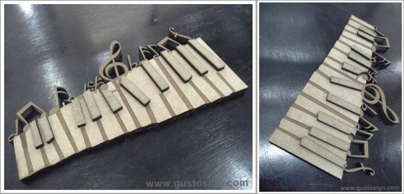 Laser Cutting MDF - Gusto Sign (1)