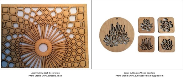 Laser Cutting Wall Decoration & Coasters