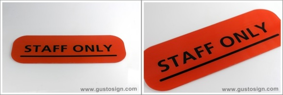 Sign System - Gusto Sign (2)