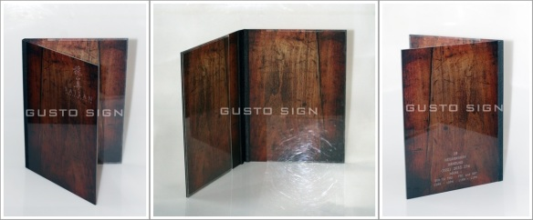 Laser Engraving - Gusto Sign (1)