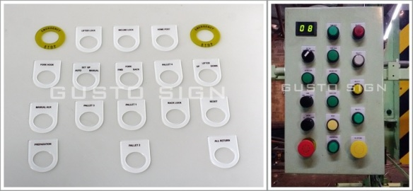 Acrylic Fabrication - Gusto Sign (2)