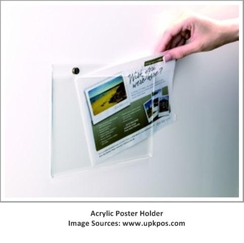 Acrylic Poster Holder1