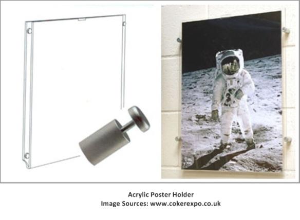 Acrylic Poster Holder2