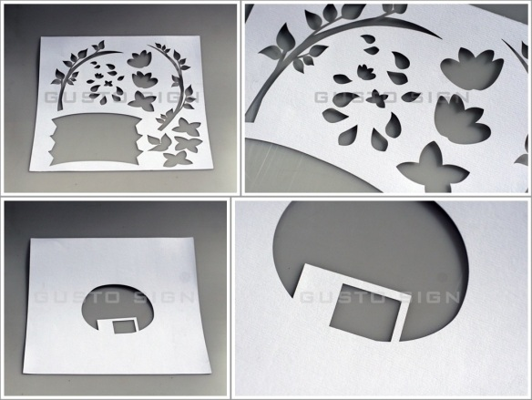 Laser Cutting - Gusto Sign (1)