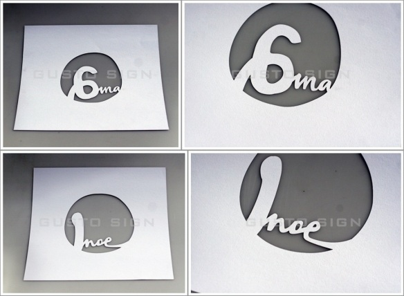 Laser Cutting - Gusto Sign (2)